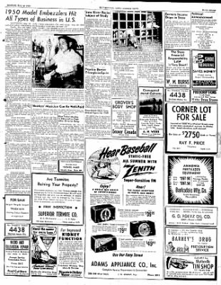 The Courier News from Blytheville, Arkansas on May 22, 1950 · Page 7