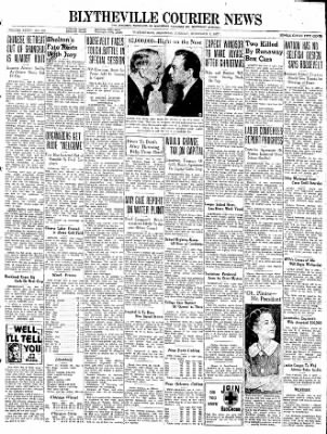 The Courier News from Blytheville, Arkansas on November 9, 1937 · Page 1