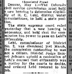 Greeley Daily Tribune from Greeley, Colorado on May 1, 1942