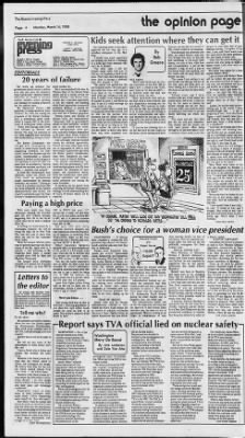 Muncie Evening Press from Muncie, Indiana on March 14, 1988 · Page 4