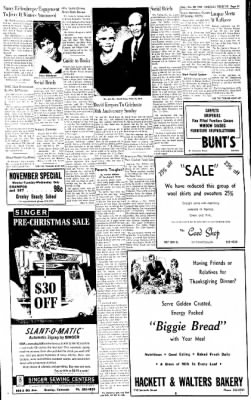 Greeley Daily Tribune from Greeley, Colorado on November 20, 1962 · Page 15