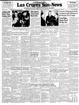 Las Cruces Sun-News from Las Cruces, New Mexico on March 27, 1951 · Page 1