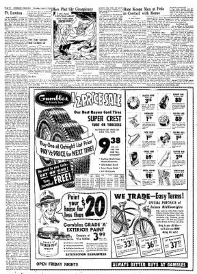 Greeley Daily Tribune from Greeley, Colorado on June 6, 1957 · Page 20