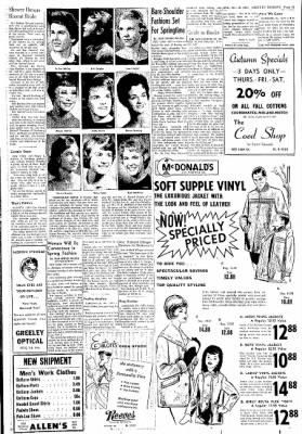 Greeley Daily Tribune from Greeley, Colorado on October 18, 1961 · Page 17