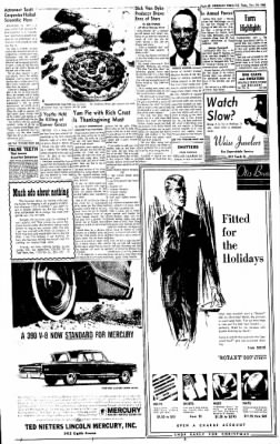 Greeley Daily Tribune from Greeley, Colorado on November 20, 1962 · Page 24