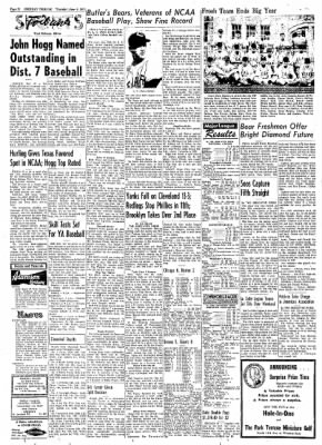Greeley Daily Tribune from Greeley, Colorado on June 6, 1957 · Page 45