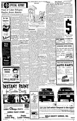 Greeley Daily Tribune from Greeley, Colorado on November 23, 1962 · Page 8