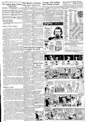 Greeley Daily Tribune from Greeley, Colorado on October 20, 1961 · Page 4
