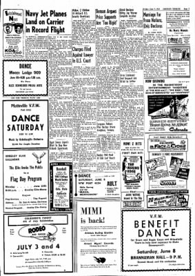 Greeley Daily Tribune from Greeley, Colorado on June 7, 1957 · Page 7