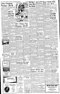 Greeley Daily Tribune from Greeley, Colorado on November 23, 1962 · Page 22