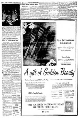 Greeley Daily Tribune from Greeley, Colorado on May 12, 1970 · Page 48