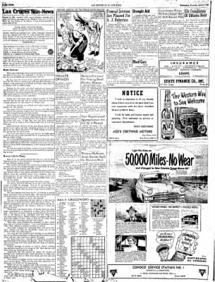 Las Cruces Sun-News from Las Cruces, New Mexico on April 4, 1951 · Page 4