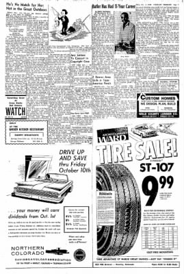Greeley Daily Tribune from Greeley, Colorado on October 8, 1969 · Page 7