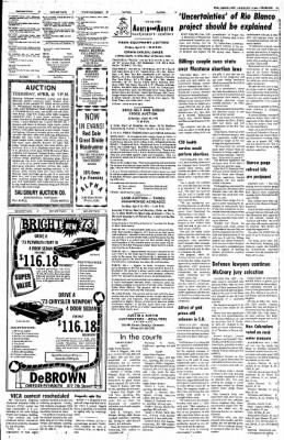 Greeley Daily Tribune from Greeley, Colorado on April 11, 1973 · Page 41