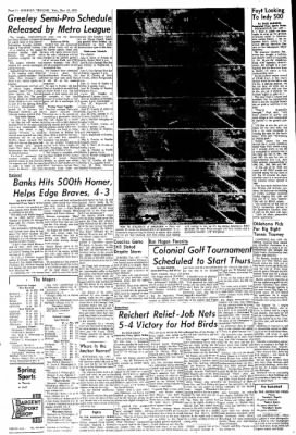 Greeley Daily Tribune from Greeley, Colorado on May 13, 1970 · Page 24