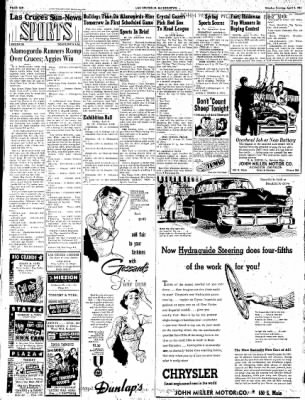 Las Cruces Sun-News from Las Cruces, New Mexico on April 9, 1951 · Page 6