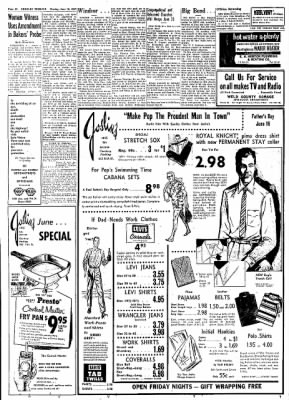 Greeley Daily Tribune from Greeley, Colorado on June 10, 1957 · Page 19