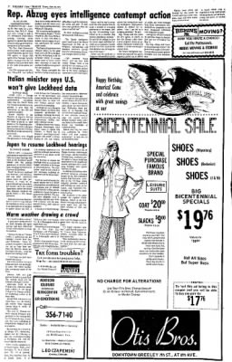 Greeley Daily Tribune from Greeley, Colorado on February 26, 1976 · Page 21