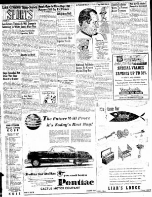 Las Cruces Sun-News from Las Cruces, New Mexico on April 13, 1951 · Page 5
