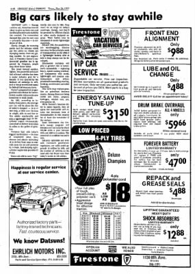 Greeley Daily Tribune from Greeley, Colorado on May 26, 1977 · Page 72