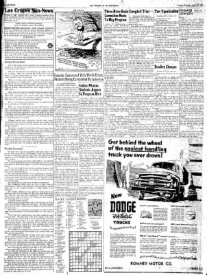 Las Cruces Sun-News from Las Cruces, New Mexico on April 17, 1951 · Page 4