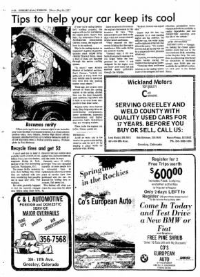 Greeley Daily Tribune from Greeley, Colorado on May 26, 1977 · Page 79