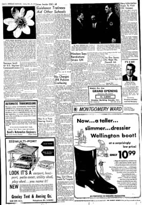 Greeley Daily Tribune from Greeley, Colorado on October 26, 1961 · Page 6