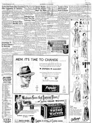 Las Cruces Sun-News from Las Cruces, New Mexico on April 19, 1951 · Page 3