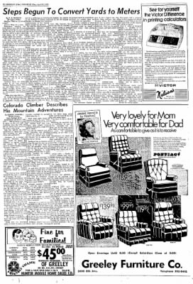 Greeley Daily Tribune from Greeley, Colorado on April 17, 1972 · Page 22