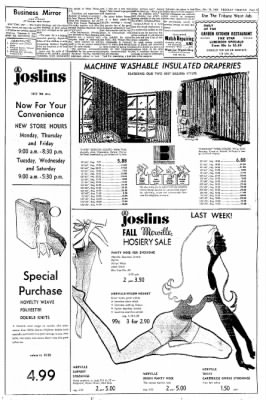Greeley Daily Tribune from Greeley, Colorado on October 13, 1969 · Page 3