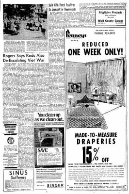 Greeley Daily Tribune from Greeley, Colorado on October 13, 1969 · Page 15
