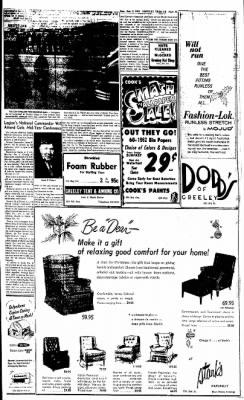 Greeley Daily Tribune from Greeley, Colorado on December 3, 1962 · Page 11