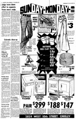 Greeley Daily Tribune from Greeley, Colorado on April 14, 1973 · Page 6