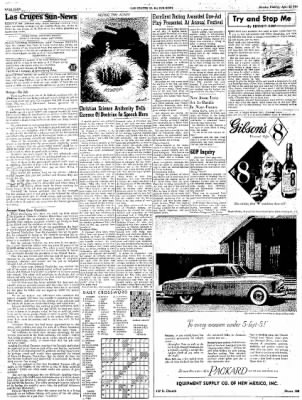Las Cruces Sun-News from Las Cruces, New Mexico on April 23, 1951 · Page 4