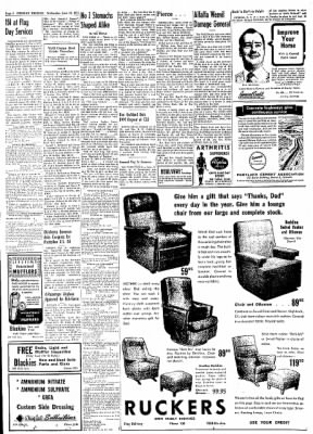 Greeley Daily Tribune from Greeley, Colorado on June 12, 1957 · Page 8