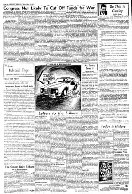 Greeley Daily Tribune from Greeley, Colorado on May 18, 1970 · Page 4