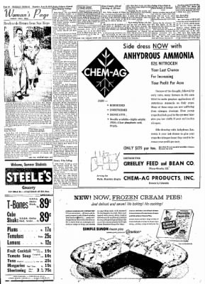 Greeley Daily Tribune from Greeley, Colorado on June 13, 1957 · Page 19