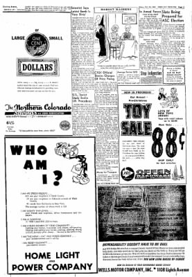 Greeley Daily Tribune from Greeley, Colorado on October 31, 1961 · Page 5