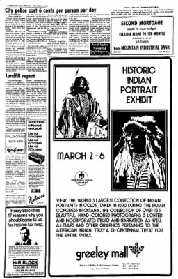 Greeley Daily Tribune from Greeley, Colorado on March 2, 1976 · Page 2
