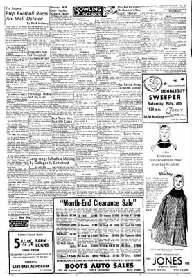 Greeley Daily Tribune from Greeley, Colorado on October 31, 1961 · Page 13