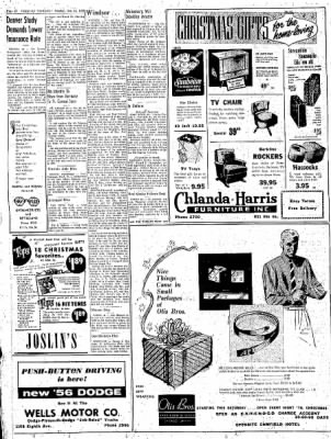 Greeley Daily Tribune from Greeley, Colorado on December 12, 1955 · Page 20