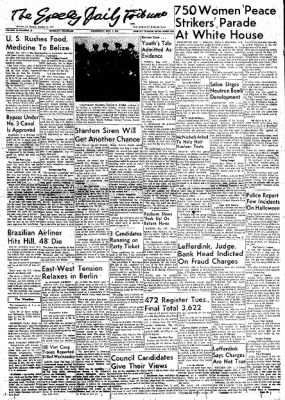 Greeley Daily Tribune from Greeley, Colorado on November 1, 1961 · Page 1