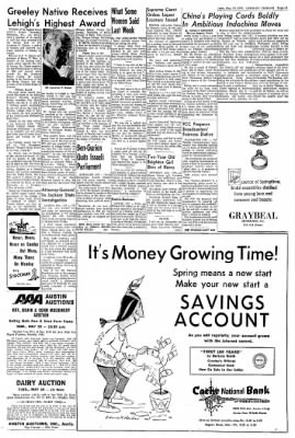 Greeley Daily Tribune from Greeley, Colorado on May 19, 1970 · Page 13
