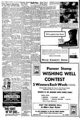 Greeley Daily Tribune from Greeley, Colorado on November 1, 1961 · Page 4