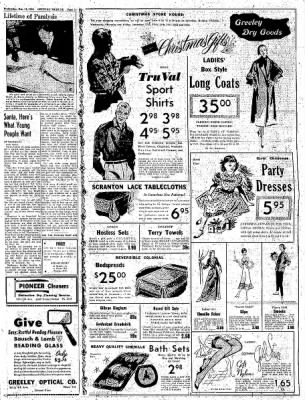 Greeley Daily Tribune from Greeley, Colorado on December 14, 1955 · Page 3