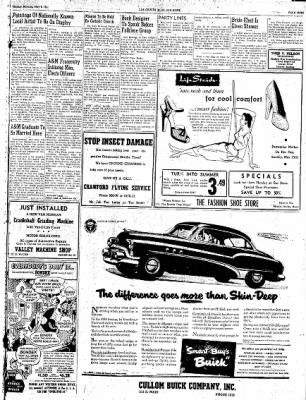 Las Cruces Sun-News from Las Cruces, New Mexico on May 6, 1951 · Page 9
