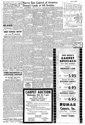 Greeley Daily Tribune from Greeley, Colorado on October 17, 1969 · Page 8
