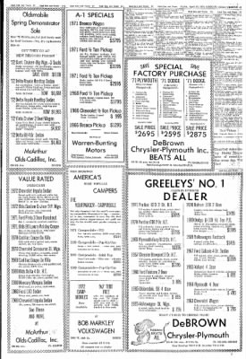 Greeley Daily Tribune from Greeley, Colorado on April 21, 1972 · Page 40