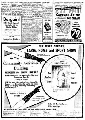 Greeley Daily Tribune from Greeley, Colorado on June 17, 1957 · Page 5