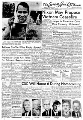 Greeley Daily Tribune from Greeley, Colorado on October 20, 1969 · Page 1